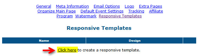 step3 How To Setup Responsive Templates