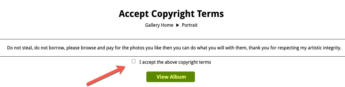 Qet Photogrpahy Copyright